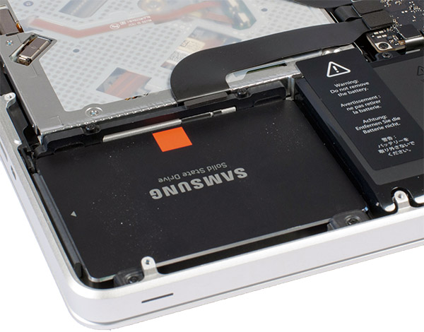 macbook ssd upgrade