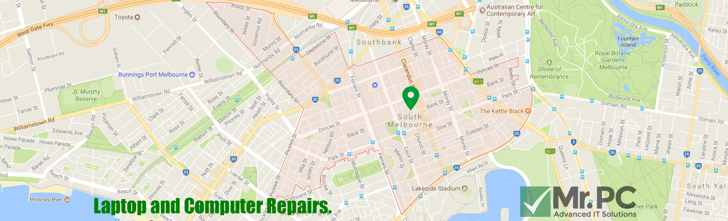 South Melbourne computer Repairs