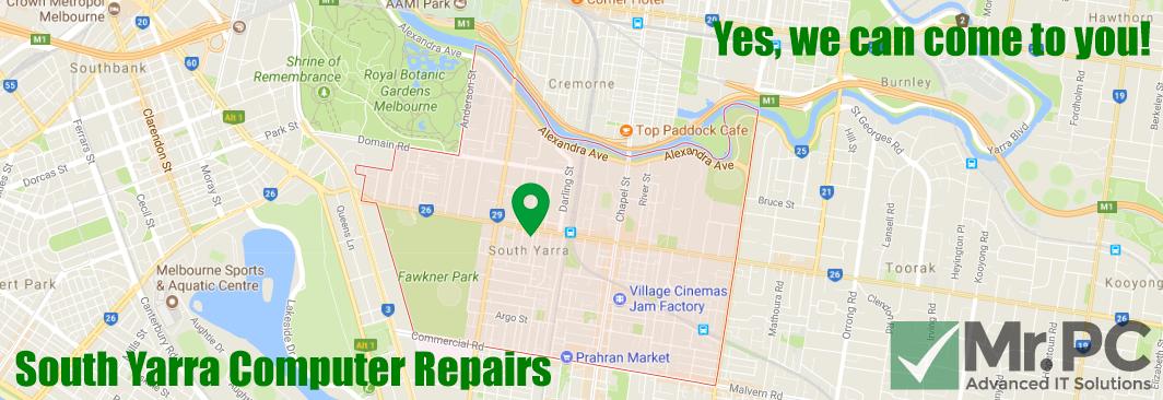 Computer repairs south yarra