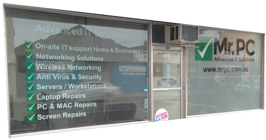 computer repair shop Melbourne